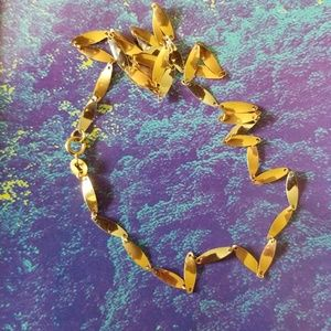 """Jewelry - SOLD - 17"""" 14K TRI-COLOR GOLD LINK CHAIN"""